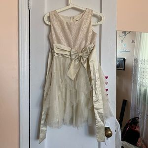 Sparkly Girls Formal Dress